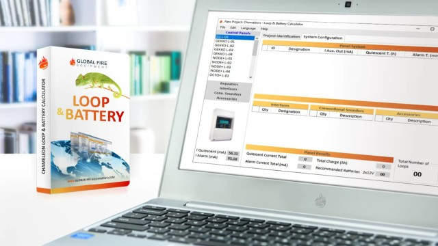 GFE CHAMELEON LOOP & BATTERY CALCULATOR Software